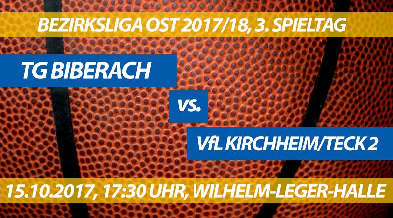 Spielvorschau: TG Biberach - VfL Kirchheim/Teck 2, 3. Spieltag, Bezirksliga Ost 2017/18