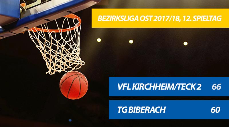 TG-Basketballer verlieren 60:66 gegen den VfL Kirchheim/Teck 2