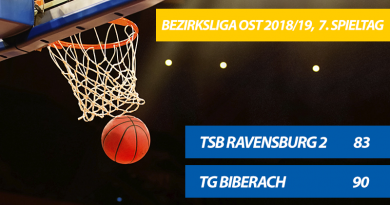 TG-Herren gewinnen 90:83 gegen den TSB Ravensburg 2