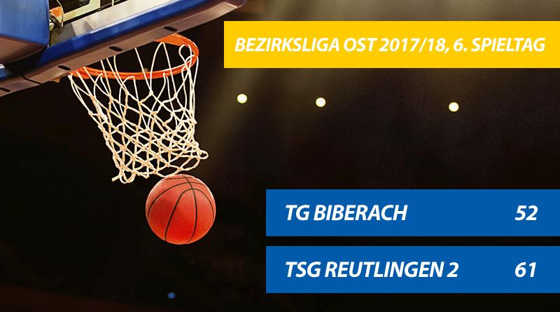 TG Basketballer kassieren erste Heimpleite der Saison