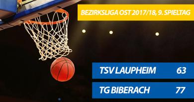 TG Basketballer feiern 77:63-Derbysieg gegen Laupheim und beenden ihre Negativserie