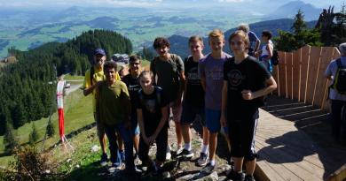 """U16 mit """"Höhentraining"""" zur Saisonvorbereitung"""