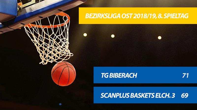 Wichtiger Sieg für die TG-Basketballer! Biberach entscheidet Krimi gegen Elchingen für sich